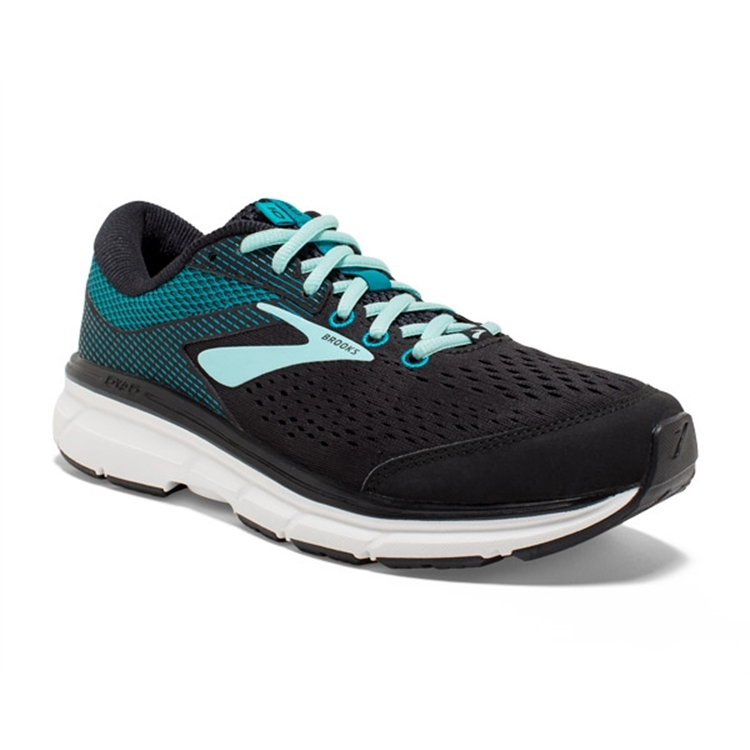 brooks Women's Dyad 10 Black / Capri Breeze / Ebony