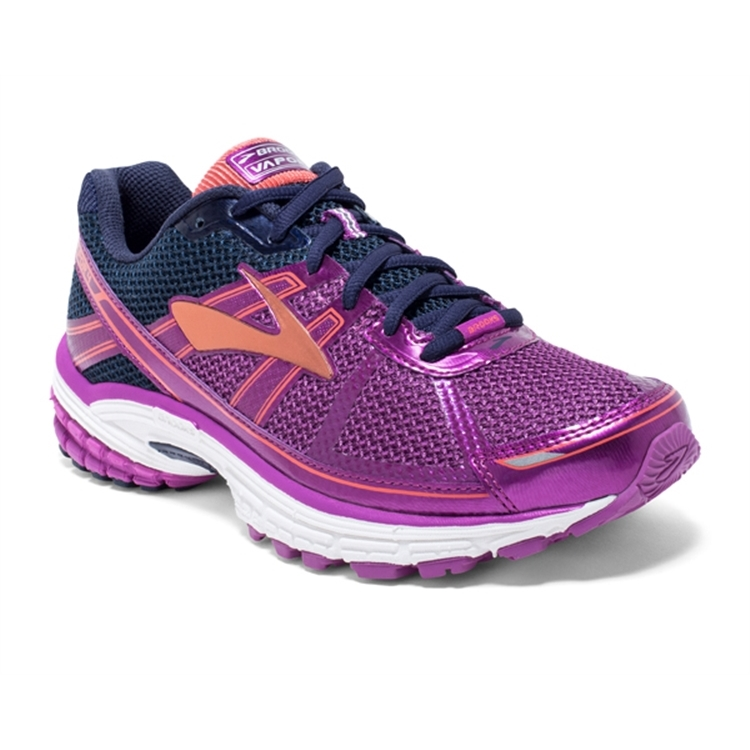 brooks Women's Vapor 4 Violet / Peacoat / Coral