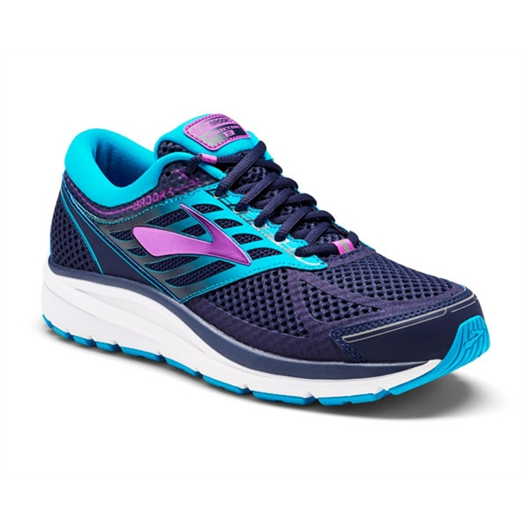 brooks Women's Addiction 13 Blue / Teal / Purple Cactus