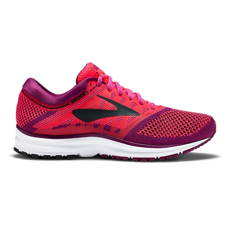 brooks Women\'s Revel Diva Pink / Plum / Black
