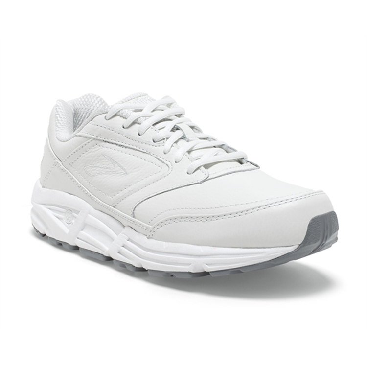 brooks Men's Addiction Walker White
