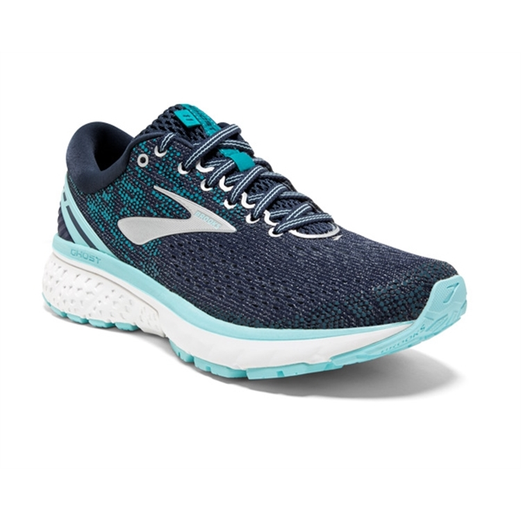 brooks Women's Ghost 11 Navy / Grey / Blue