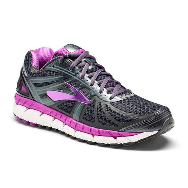 brooks Women's Ariel 16 Anthracite / Purple Cactus
