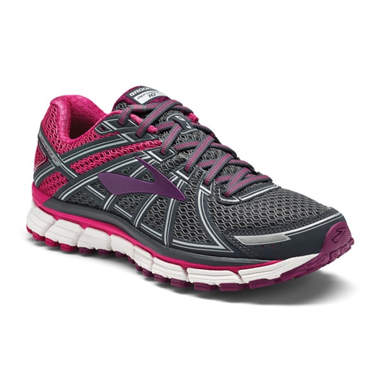 brooks Women's Defyance 10 Black / Silver / White