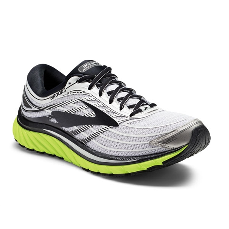 brooks Men's Glycerin 15 Silver / Black / Nightlife