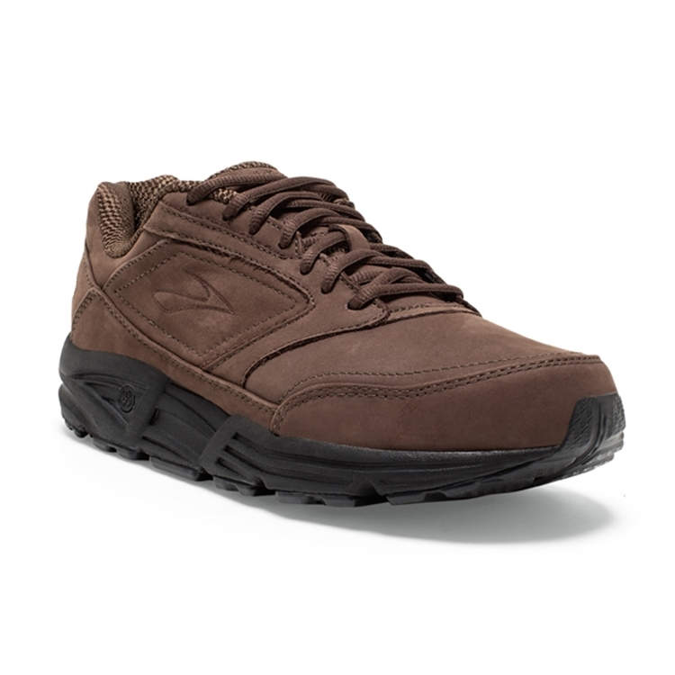 brooks Men's Addiction Walker Brown Nubuck