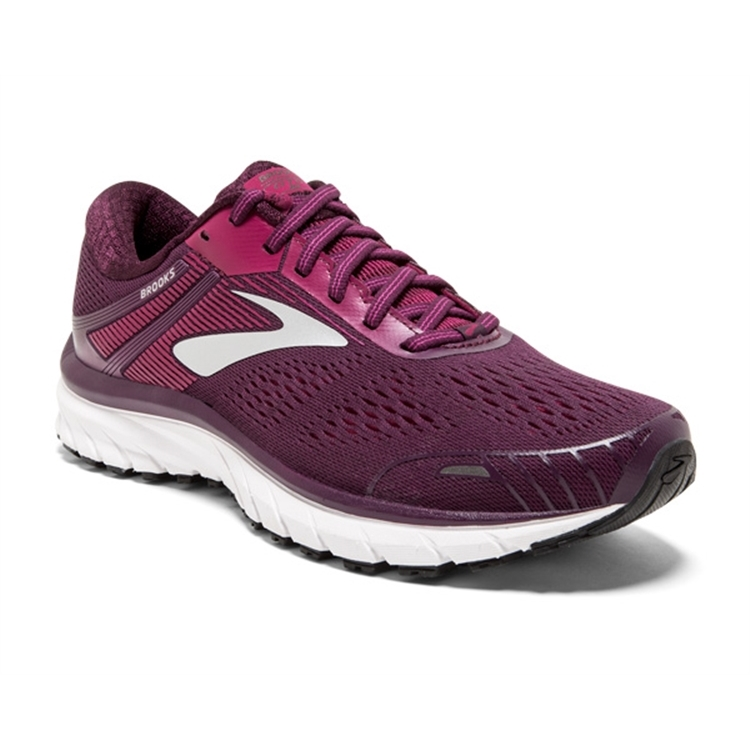 brooks Women's Adrenaline GTS 18 Purple / Pink / Silver
