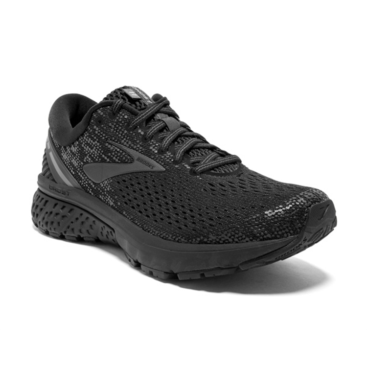 brooks Men\'s Ghost 11 Black / Ebony