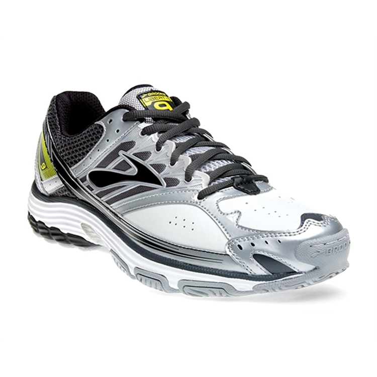 brooks Men's Liberty 9 Leather Sulphur Spring / Black / Silver