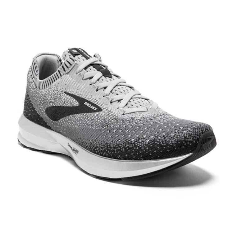 brooks Women's Levitate 2 Grey / Ebony / White