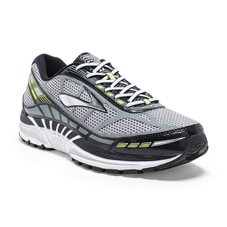 brooks Men's Dyad 8 Riverrock / Black / Nightlife