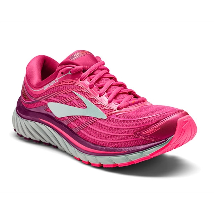 brooks Women's Glycerin 15 Pink / Purple / Silver