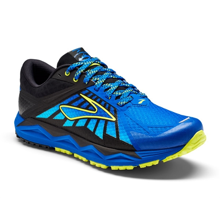 brooks Men's Caldera Brooks Blue / Lime / Blue