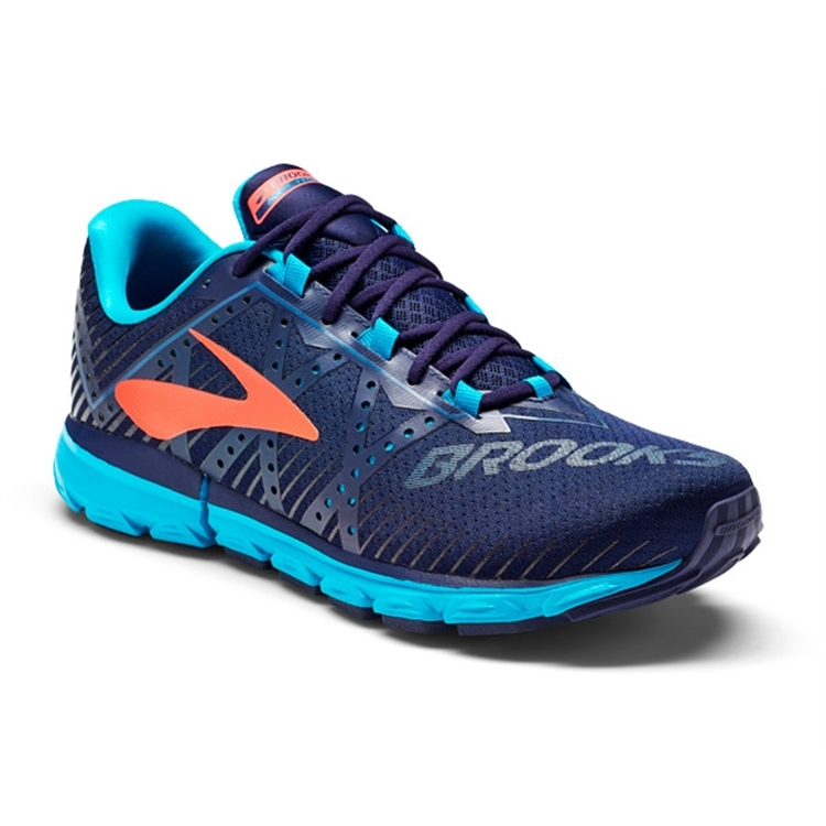brooks Women's Neuro 2 China Blue / Fiery Coral