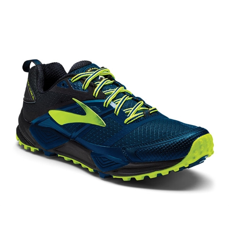 brooks Men's Cascadia 12 Blue / Black / Nightlife