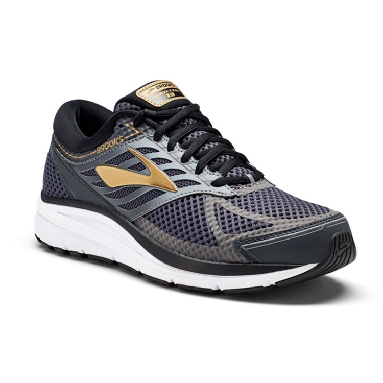 brooks Men's Addiction 13 Black / Ebony / Metallic Gold