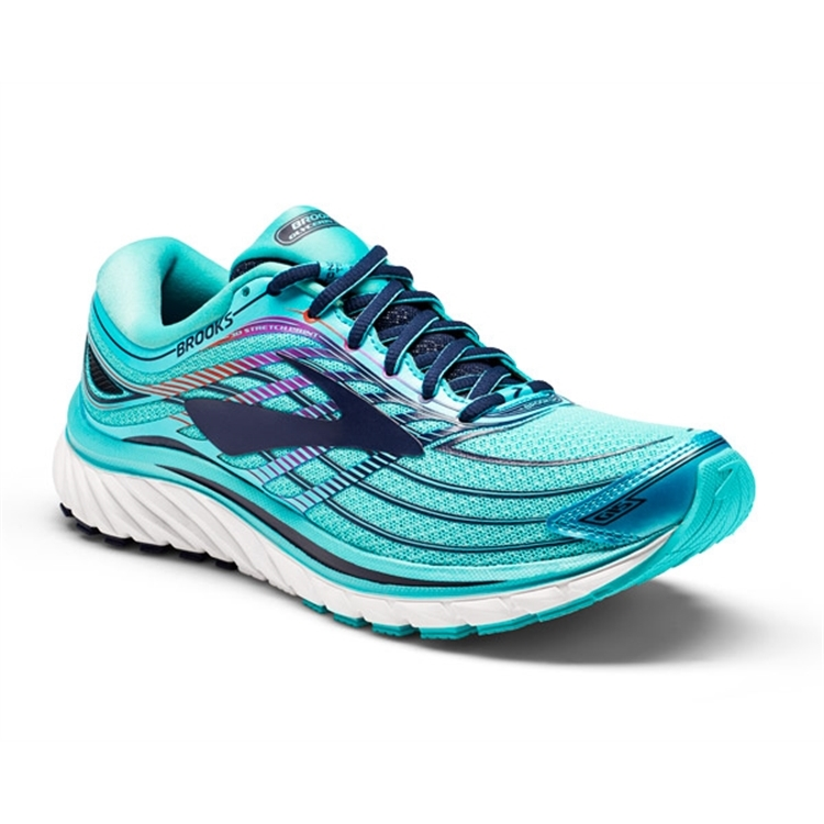brooks Women's Glycerin 15 Capri / Blue / Purple Cactus