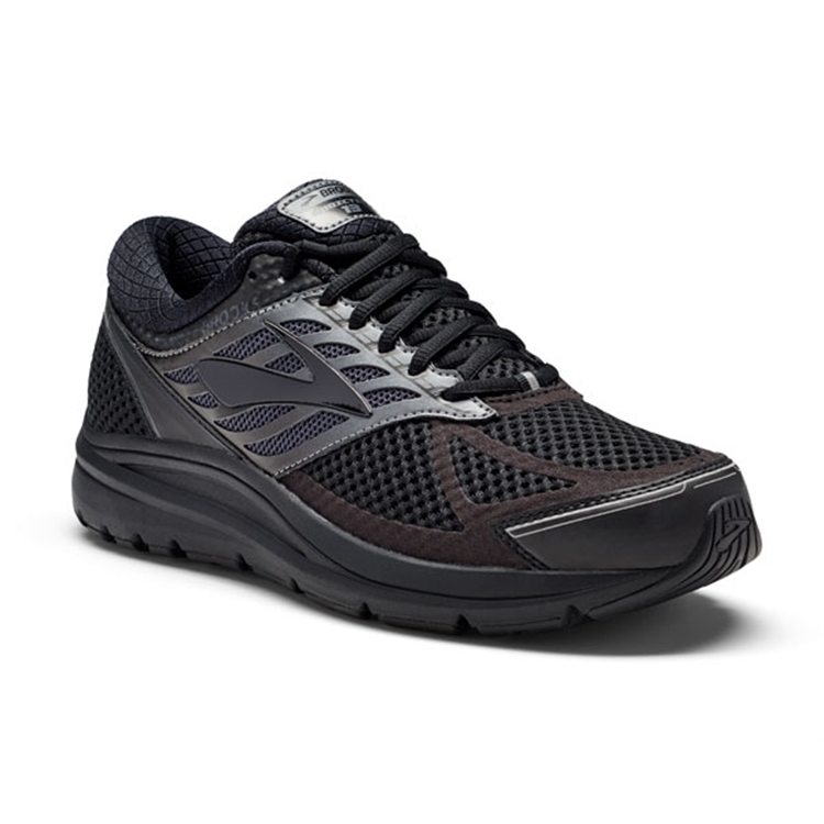 brooks Men's Addiction 13 Black / Ebony