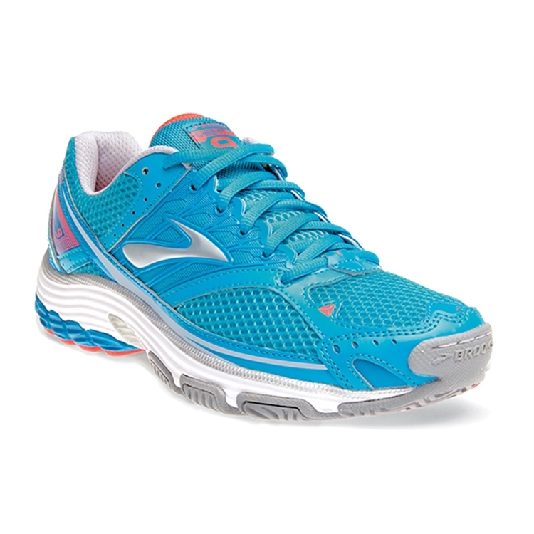 brooks Women's Liberty 9 Mesh Hawaiian Ocean / Blue / Coral
