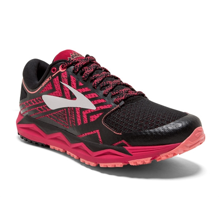 brooks Women's Caldera 2 Pink / Black / Coral
