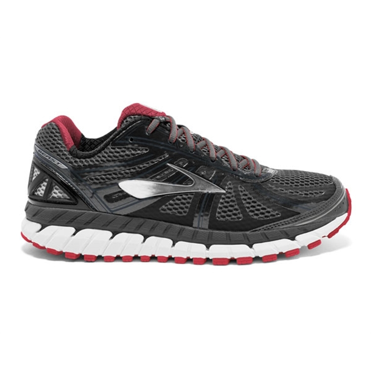 brooks Men\'s Beast 16 Black / Red