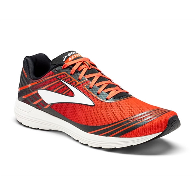 brooks Men's Asteria Cherry Tomato / Black