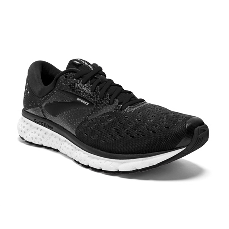 brooks Women's Glycerin 16 Black / White