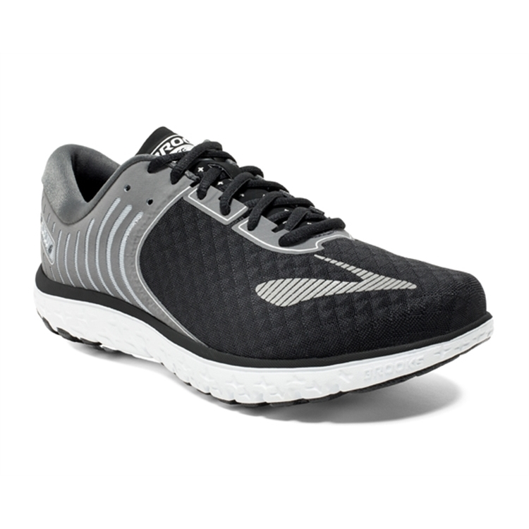 brooks Men's PureFlow 6 Black / Anthracite / Silver