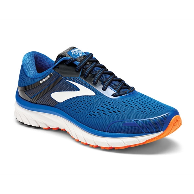 brooks Men\'s Adrenaline GTS 18 Blue / Black / Orange