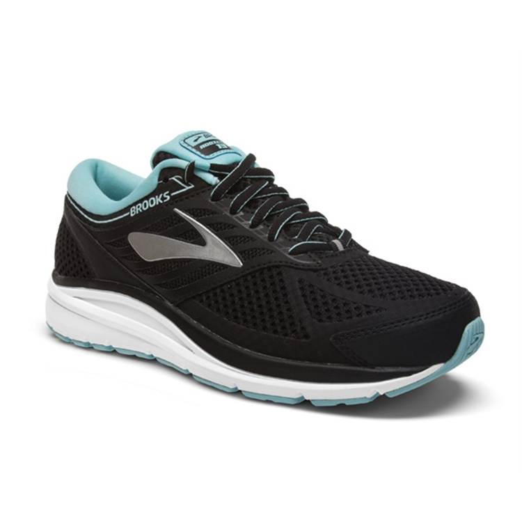 brooks Women's Addiction 13 Black / Angel Blue / Silver