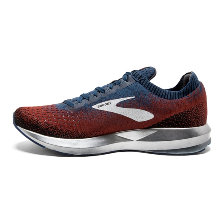 brooks Men\'s Levitate 2 Chili / Navy / Black