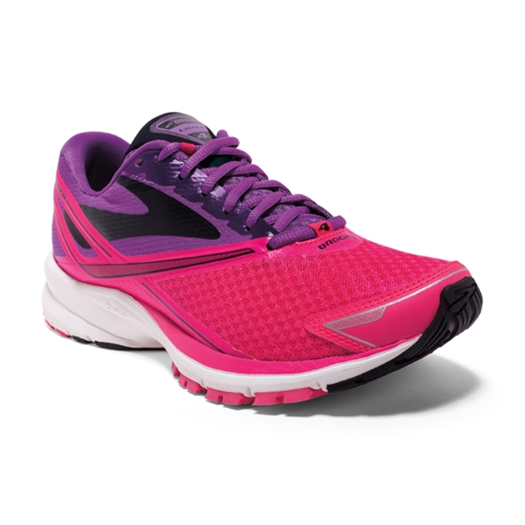 brooks Women's Launch 4 Purple / Diva Pink / Blue