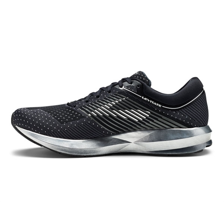 brooks Men\'s Levitate Black / Ebony / Silver