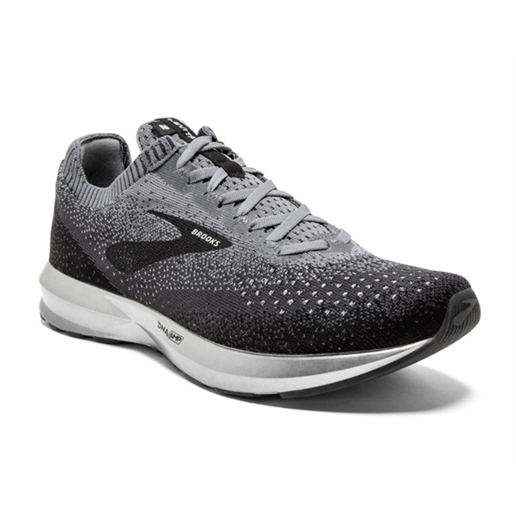 brooks Men's Levitate 2 Black / Grey / Ebony
