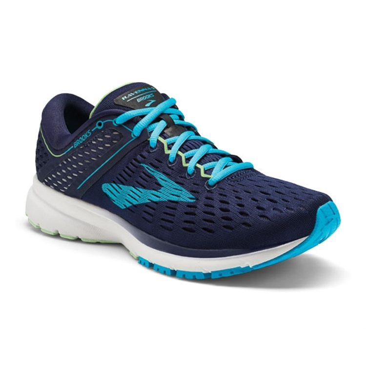 brooks Women's Ravenna 9 Navy / Blue / Green
