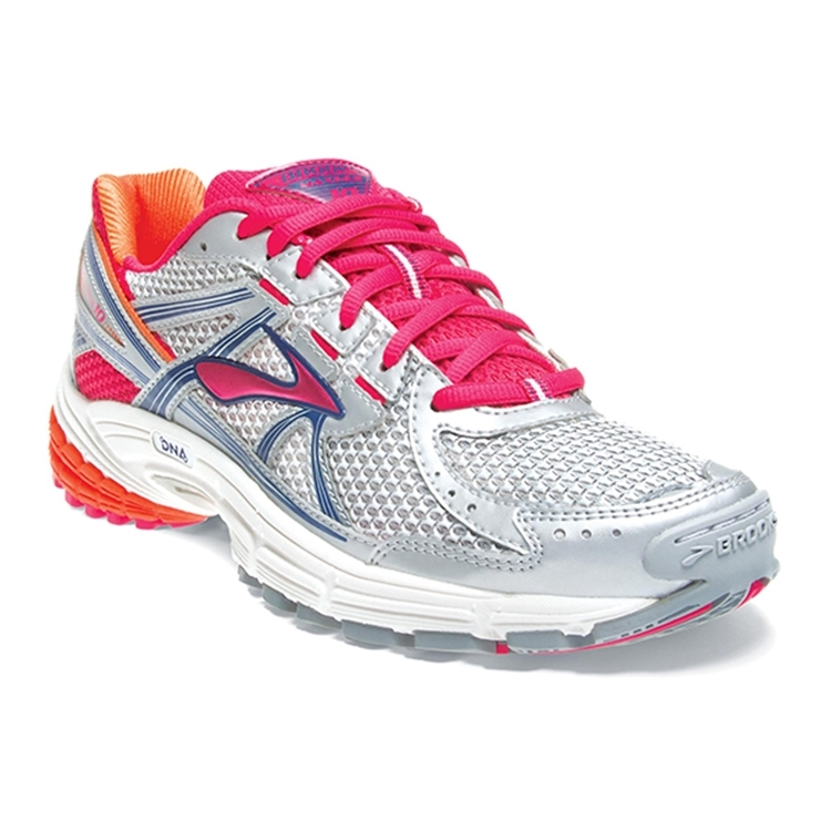 brooks Women's Maximus XT 10 Mesh Rasberry / Flame / White