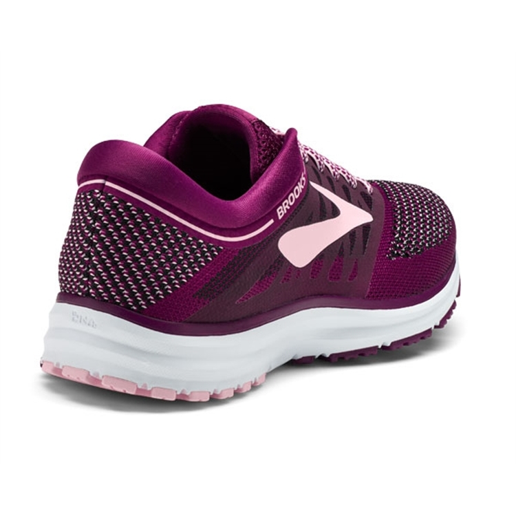 brooks Women\'s Revel Plum / Pink / Black