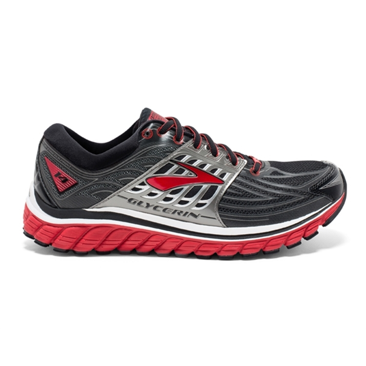 brooks Men\'s Glycerin 14 High Risk Red / Anthracite