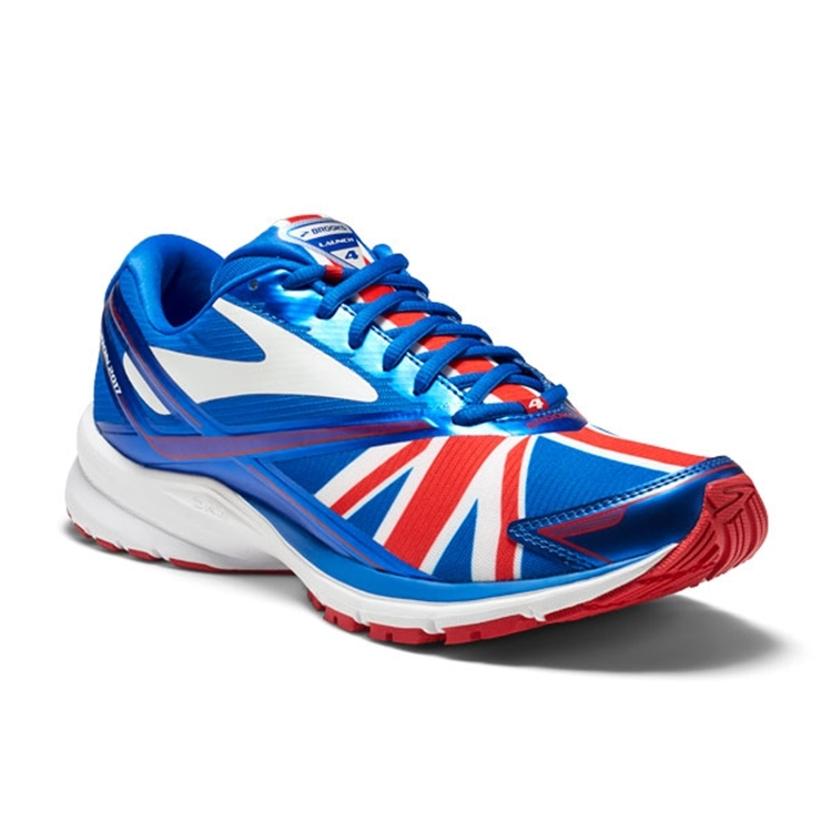 brooks Women's Launch 4 Electric Brooks Blue