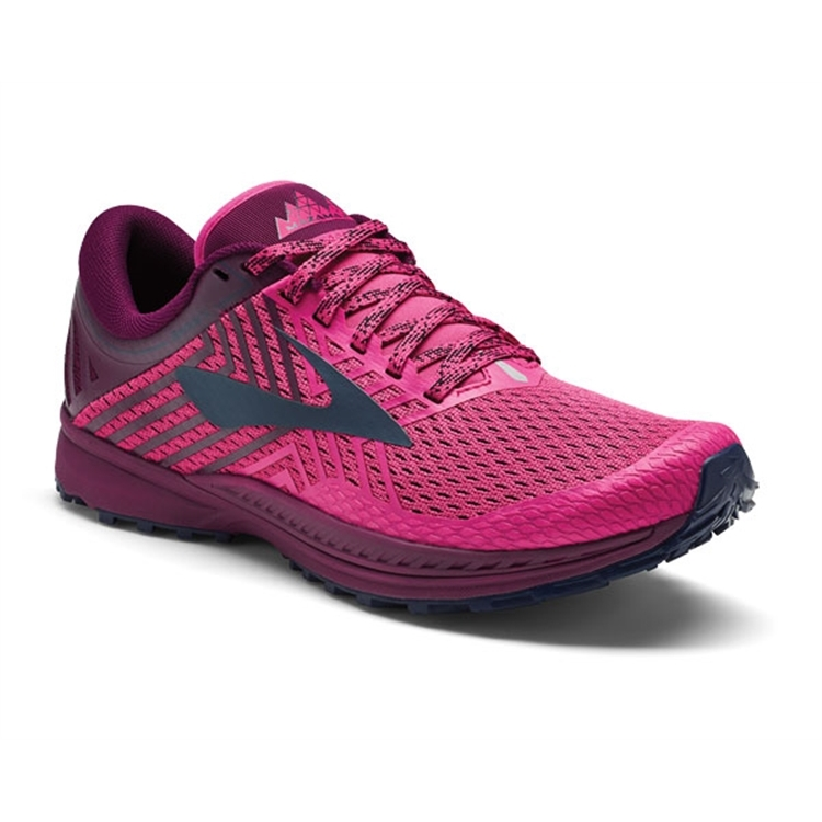 brooks Women's Mazama 2 Pink / Plum / Navy