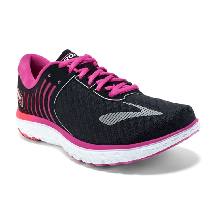brooks Women's PureFlow 6 Black / Rose Violet
