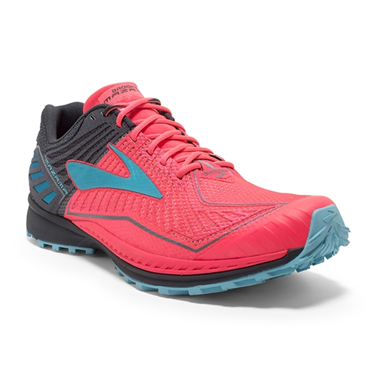 brooks Women's Mazama Diva Pink / Bluefish / Anthracite