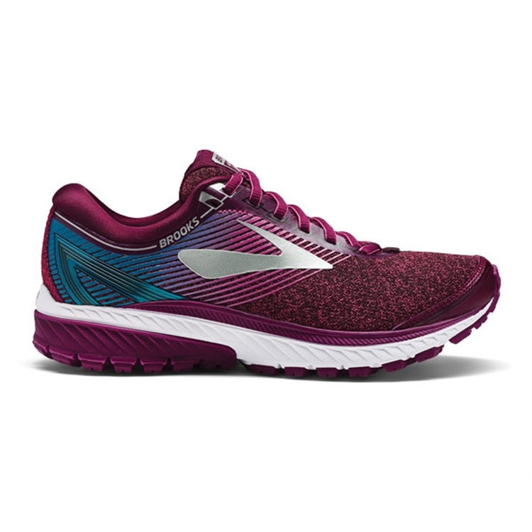 brooks Women\'s Ghost 10 Purple / Pink / Teal