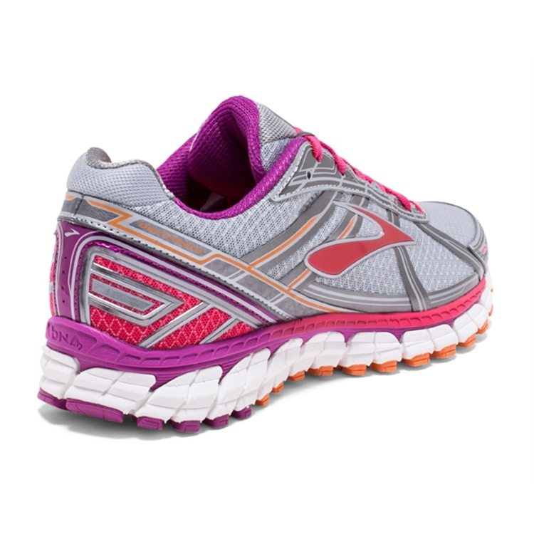 brooks Women\'s Defyance 9 Silver / Charcoal / Pink
