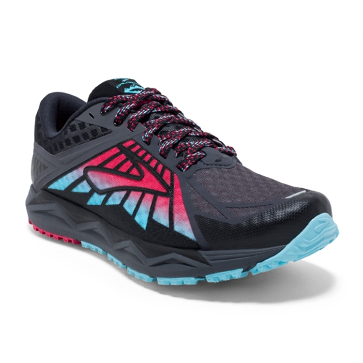 brooks Women's Caldera Anthracite / Azalea / Black