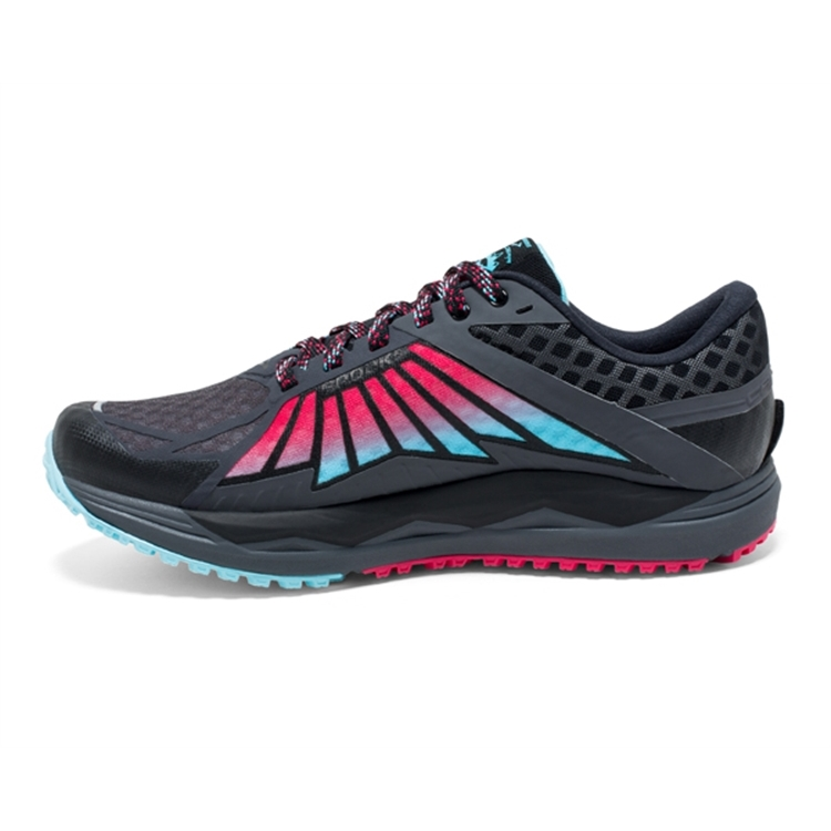 brooks Women\'s Caldera Anthracite / Azalea / Black