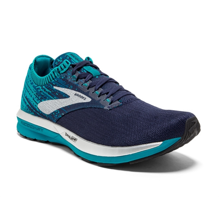 brooks Women's Ricochet Navy / Blue / White