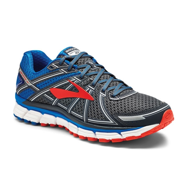 brooks Men's Defyance 10 Ebony / Blue / Orange