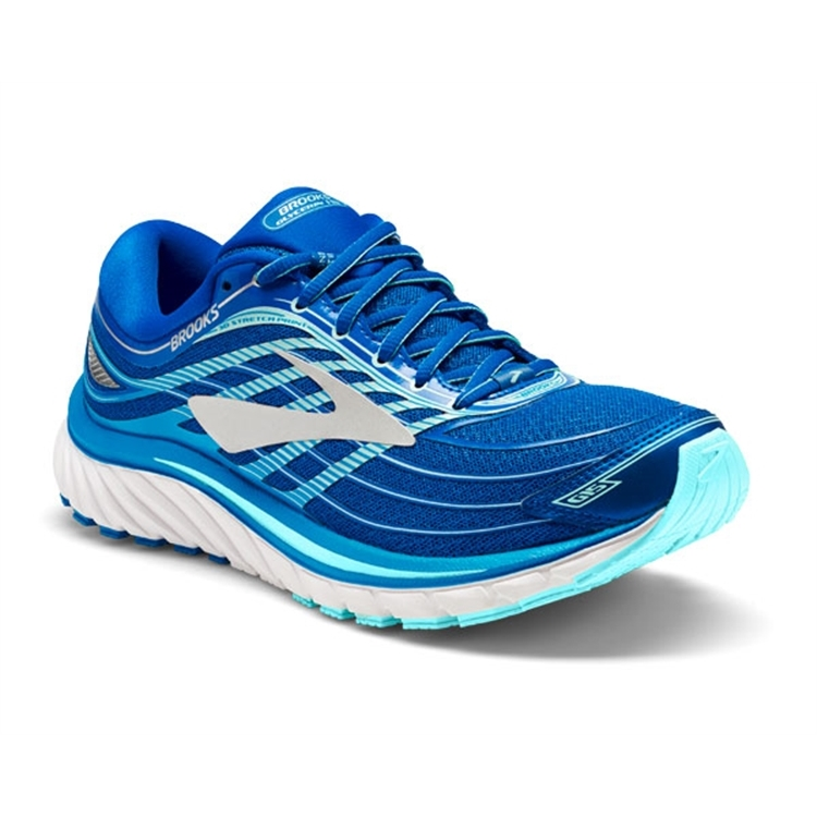 brooks Women's Glycerin 15 Blue / Mint / Silver