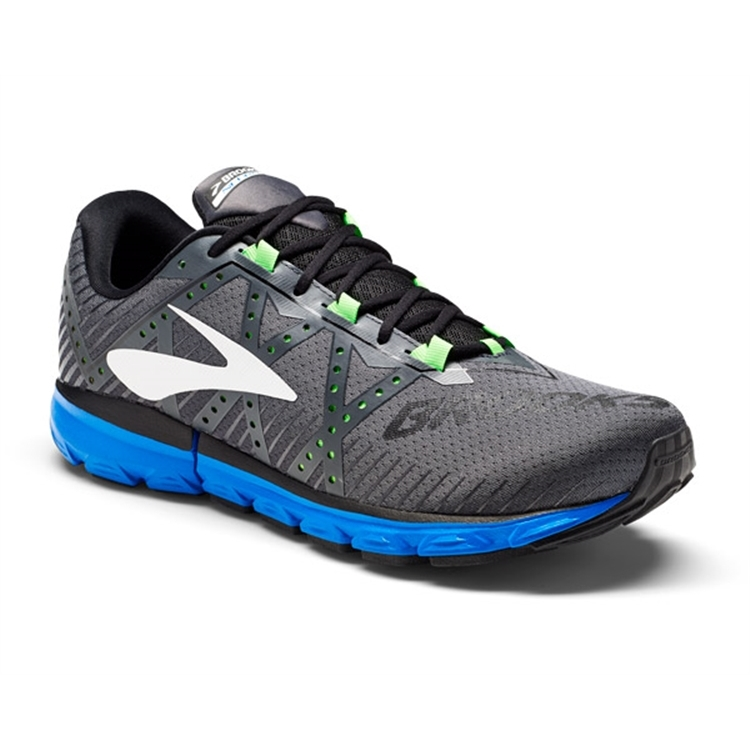 brooks Men's Neuro 2 Anthracite / Blue / Green